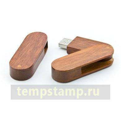 """16GB Wooden USB Flash Drive for laser engraving  (Folding)"""