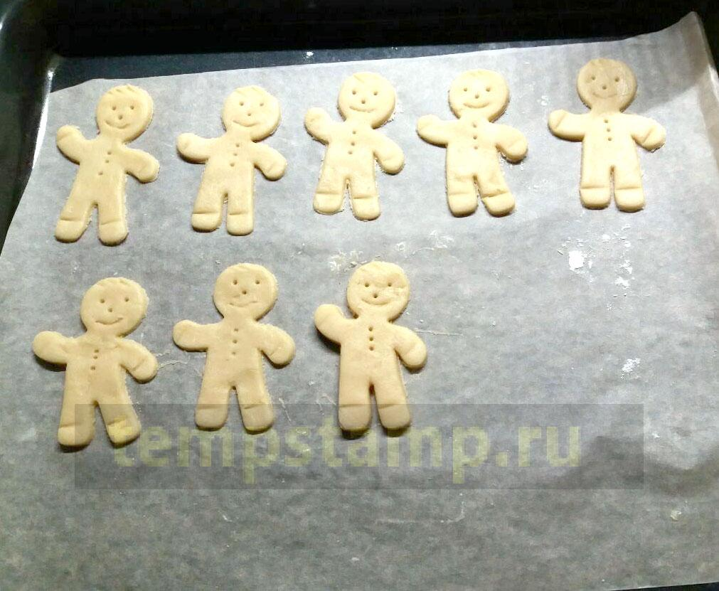 Form for gingerbread