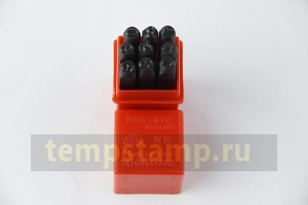 Drum Set stamps - figures 5 mm