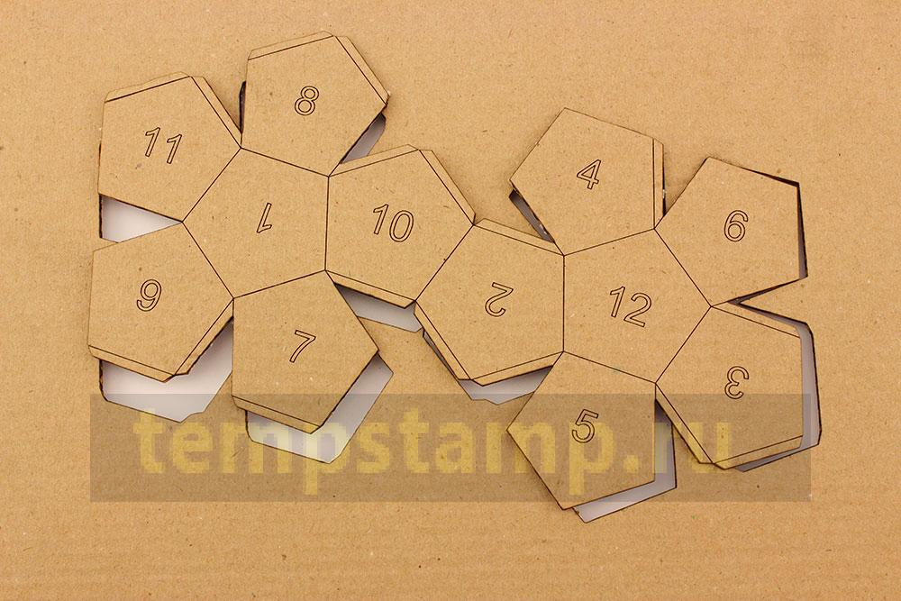 Laser cutting of paper models from cardboard