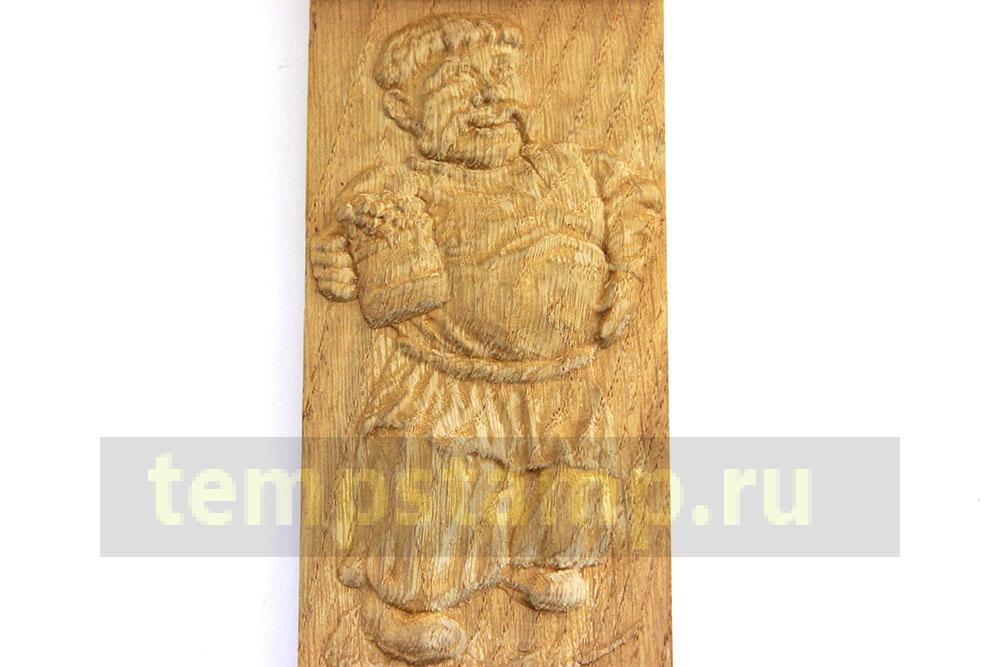 3d engraving wood picture