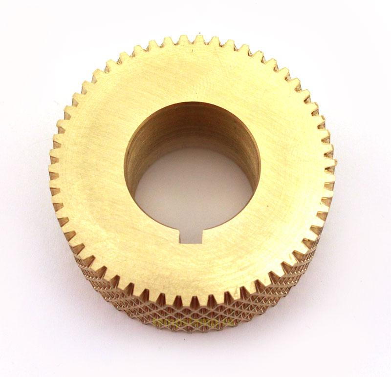 Leather embossing roller
