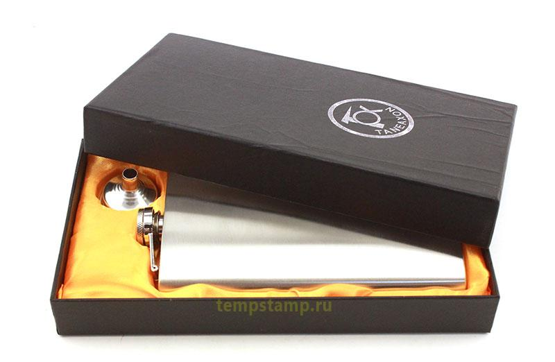Flask for engraving (in a box)