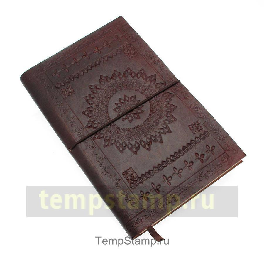 """Stamp for embossing on a diary"""