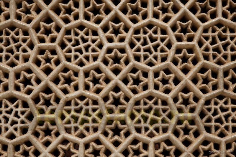 """Carved lattice"""