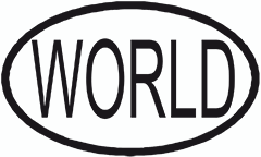 """Stamp for pallets WORLD"""